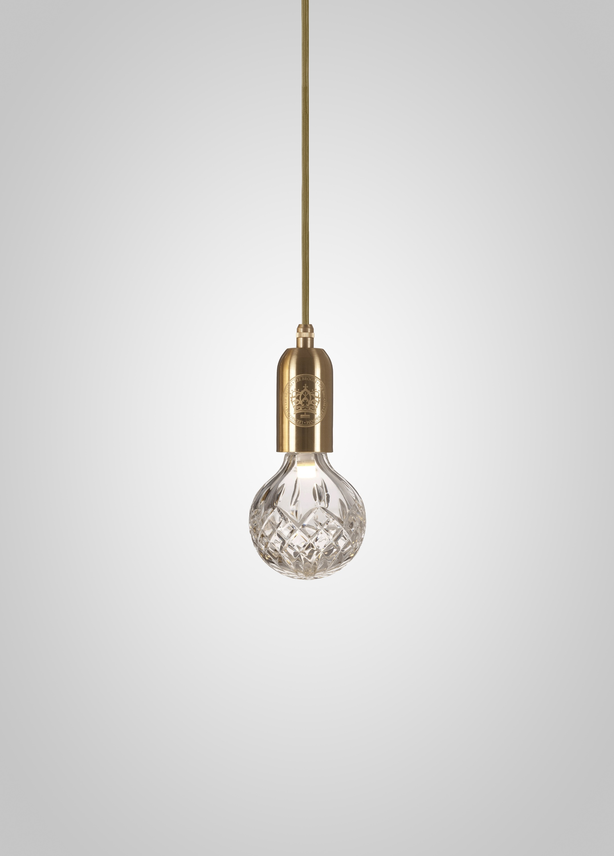 Clear crystal bulb and pendant by lee broom clear crystal bulb and pendant aloadofball Gallery