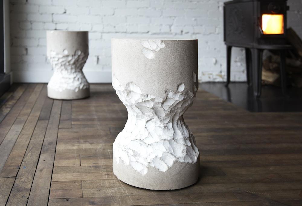 castor stool by castor