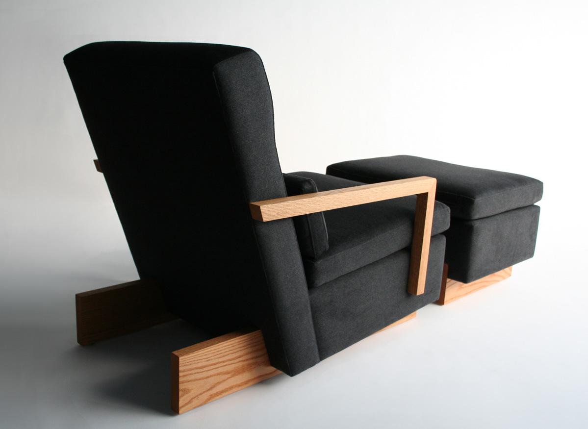 Trax Chair & Ottoman