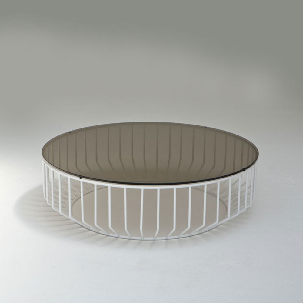 Exceptionnel Wired Coffee Table   Glass Top