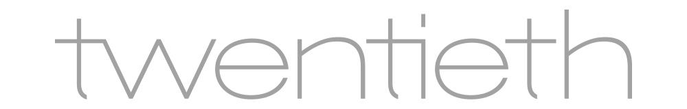 Twentieth logo