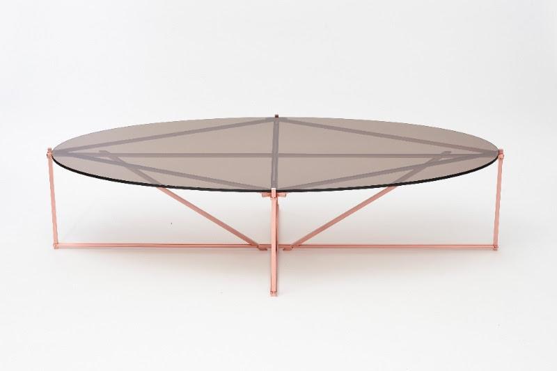 Gabriel Scott Tensegrity Oval table