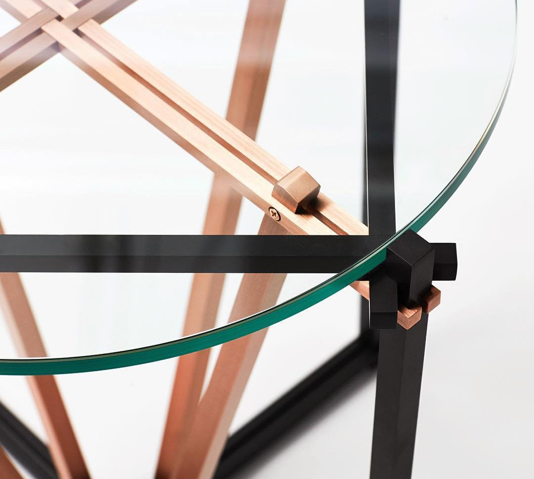 Detail of Tensegrity Table Top