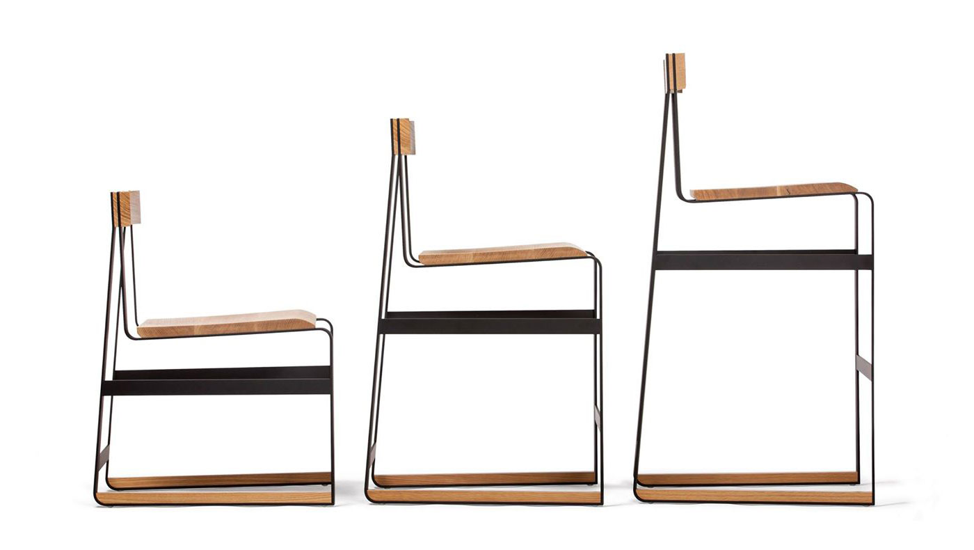 Skram chairs at ICFF