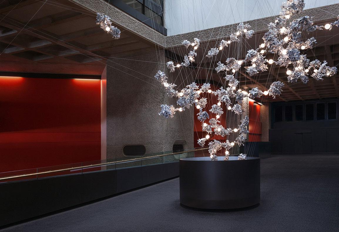 Omer Arbel 44 at the London Barbican Centre