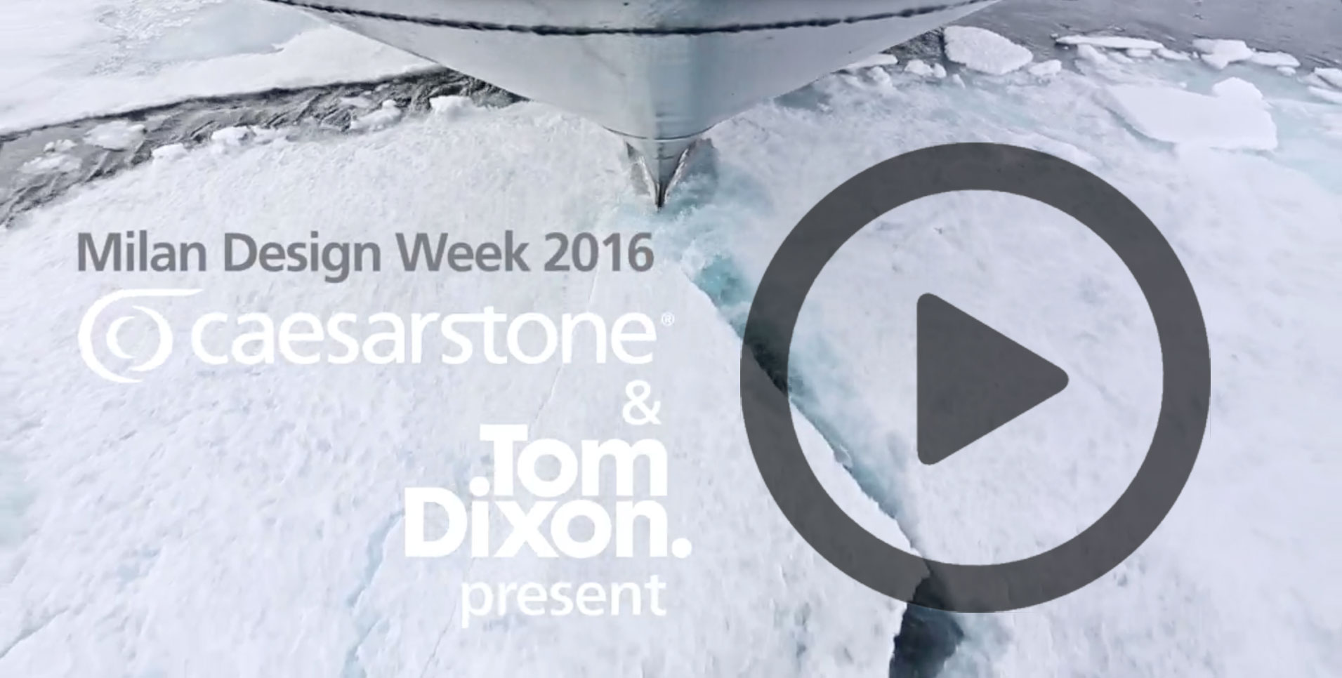 Tom Dixon's Earth, Fire, Ice, and Water